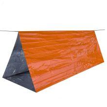 Аварийный тент-труба Emergency Tube Tent оранжевый, 244x122 см