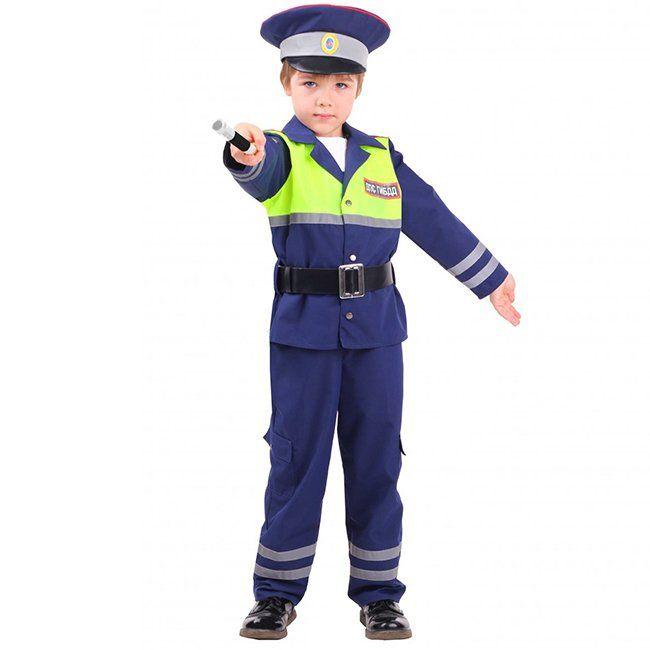 Костюм карнавальный Инспектор ДПС