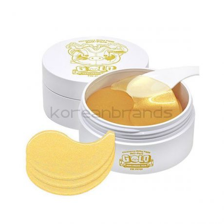 Elizavecca Hell-pore gold hyaluronic acid eye patch