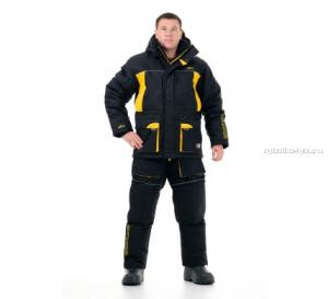 Костюм зимний Novatex Grayling Селигер цвет: черно-желтый