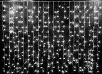 Светодиодная гирлянда-штора 3 х 2 (450LED) Цвет: белый холодный