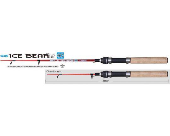 Удочка   зимняя   SWD Ice Bear PRO L-60cm