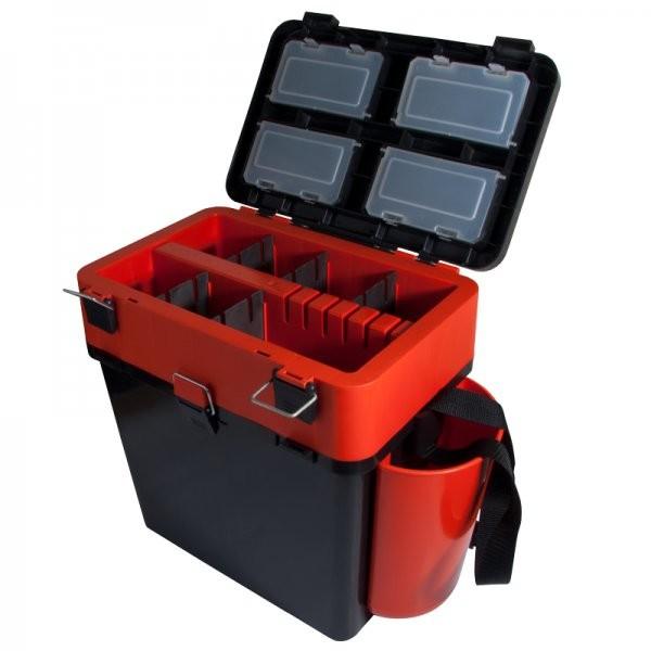 Ящик зимний HELIOS FishBox  (Тонар) 19л оранжевый