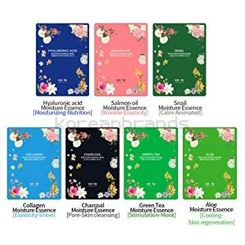 EYENLIP MOISTURE ESSENCE MASK x 10ea 7 Types