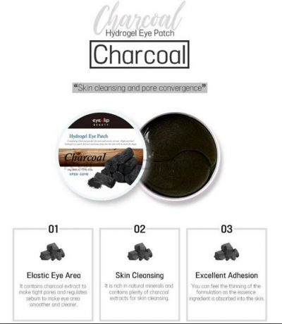 EYENLIP CHARCOAL ACID HYDROGEL EYE PATCH