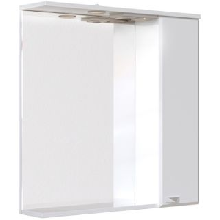 Зеркальный шкаф Sanstar Кристал 70 с подсветкой