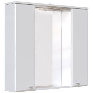 Зеркальный шкаф Sanstar Кристал 80 с подсветкой