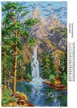 DANA-3453 Dana. Горный Водопад. А3 (набор 1475 рублей)