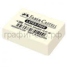 Ластик Faber-Castell натуральный каучук 7041 40х27х13мм 184120