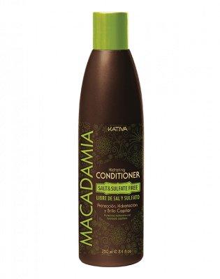 Увлажняющий кондиционер для нормальных и поврежденных волос MACADAMIA Kativa, 250 мл.