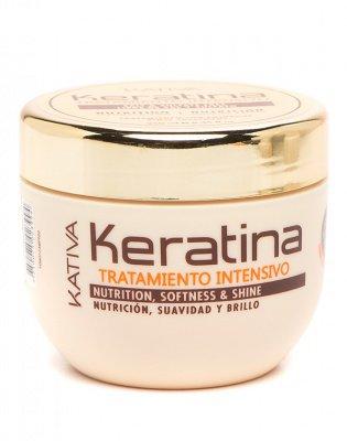 Маска для поврежденных и хрупких волос кератиновая  KERATINA Kativa, 250 мл.