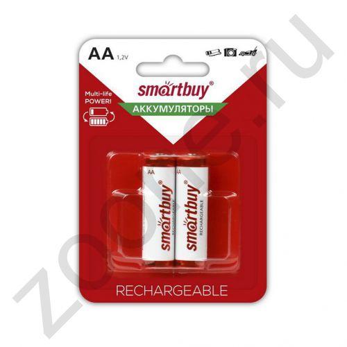 Аккумулятор R06 AA 2500 мАч 2BL (SBBR-2A02BL2500) (2ШТ) SMARTBUY