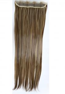 Искусственные термостойкие волосы на заколках на трессе №F10/22 (55 см) - 1 тресса, 100 гр.