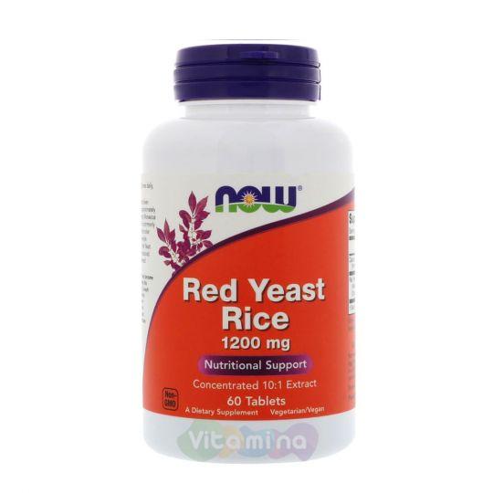 Красный рис 1200 мг, 60 табл.