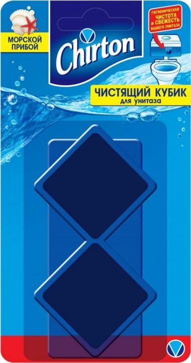 Чист.кубик Чиртон 2*50г д/унитаза Морской прибой