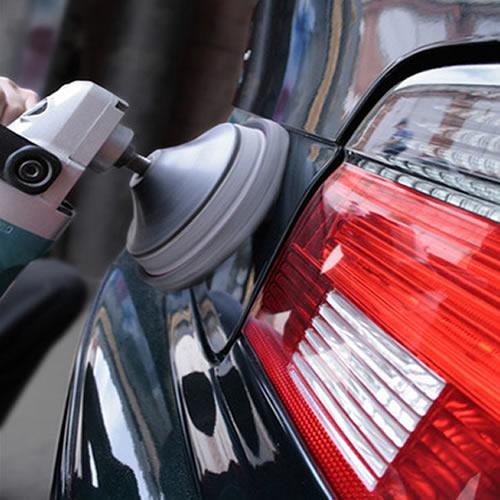 Полировка крышки багажника авто