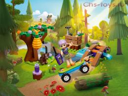 Конструктор LEPIN Friends Приключения Мии в лесу 01082 (Аналог LEGO Friends 41363) 150 дет