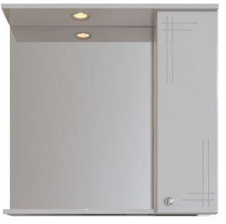 Зеркальный шкаф Sanstar Июнь 70 с подсветкой