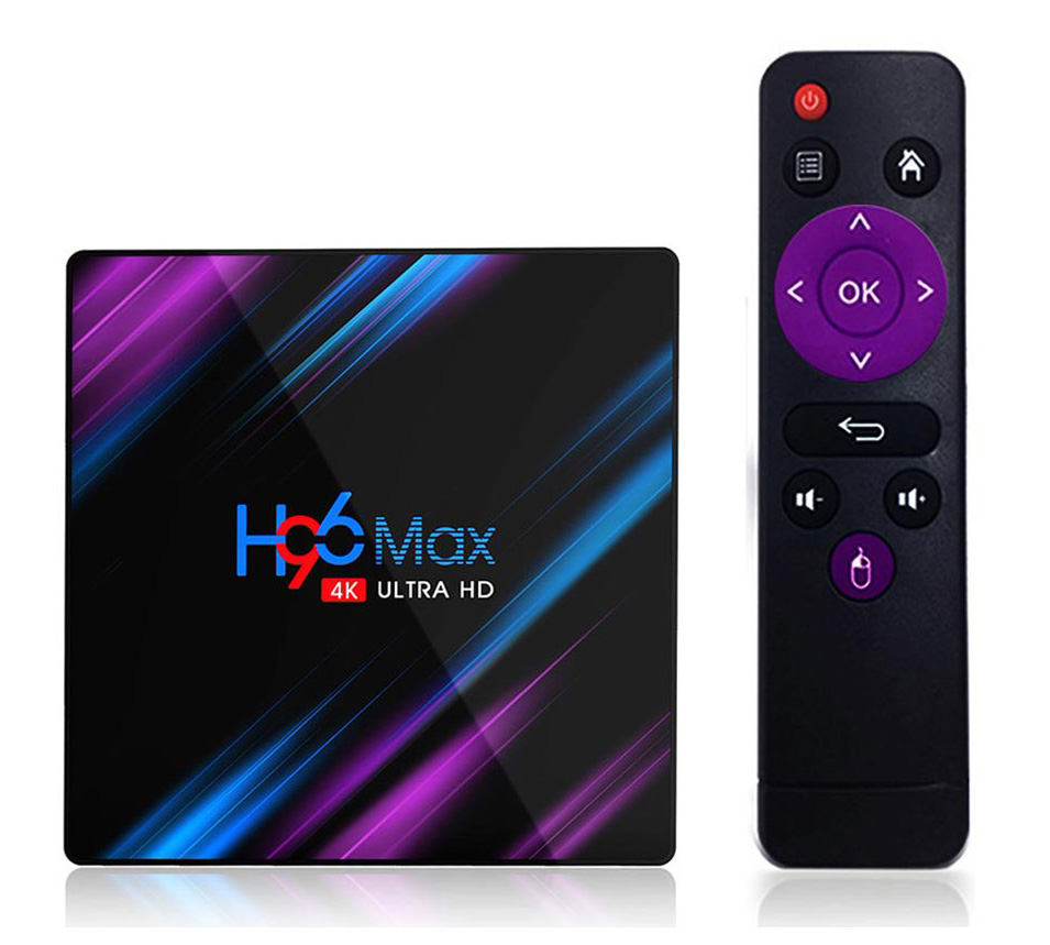 Медиаплеер TV Box H96Max (RK3318/2~4Gb/16~64Gb/Mali-450/WiFi/BT/4K/Android 9.0)