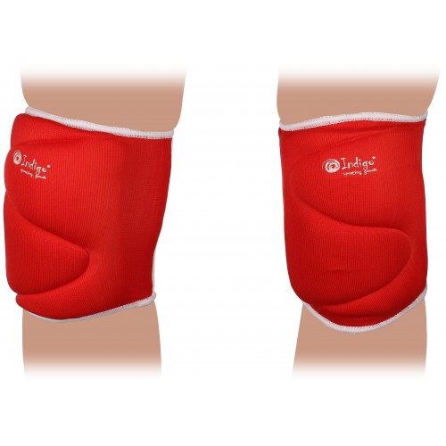 Наколенник волейбольный INDIGO 208-TSE красный