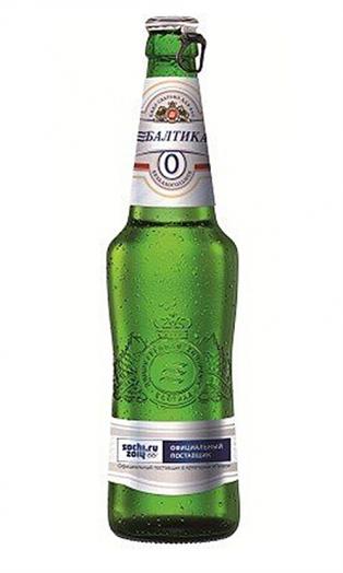 Пиво Балтика №0 б/алк 0,47л ст/б Балтика