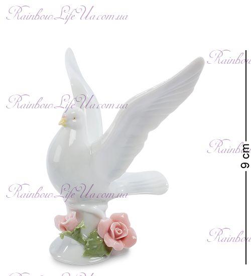 "Фигурка голубь и розы ""Pavone"""
