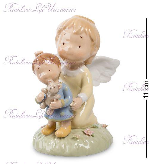 "Фигурка ангел и мальчик с игрушкой ""Pavone"""