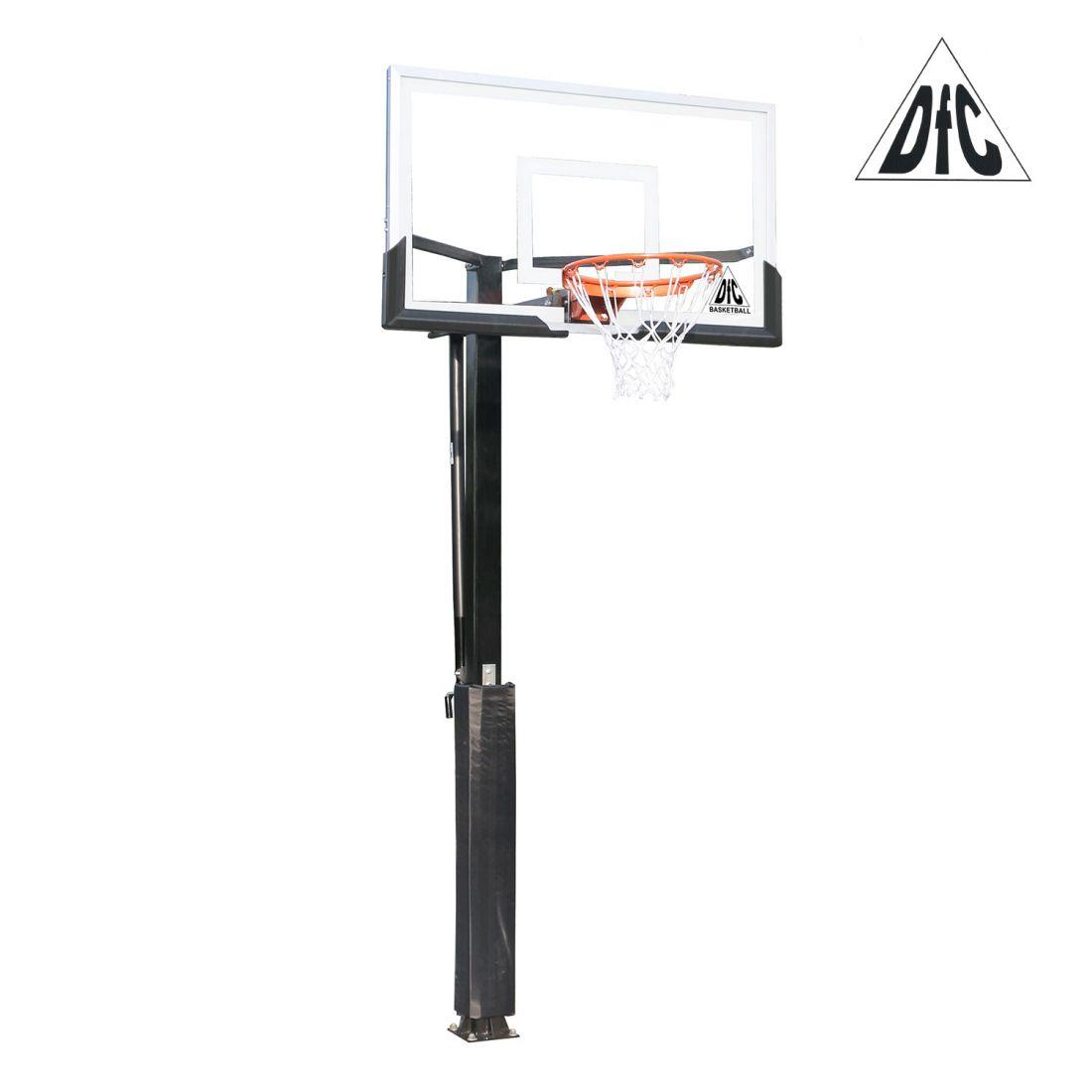 """Стационарная баскетбольная стойка 54"""" DFC ING54U"""