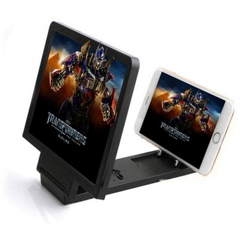 3D увеличитель экрана телефона, цвет - чёрный.