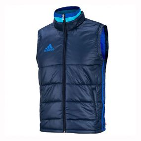 Жилет adidas Condivo 16 Padded Vest тёмно-синий утеплённый