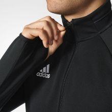 Спортивная кофта adidas Tiro 17 Training Jacket чёрная