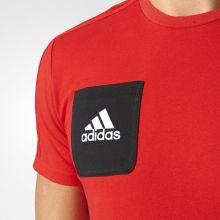Футболка adidas Tiro 17 Tee красная