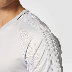 Футболка adidas Tiro 17 Training Jersey серая