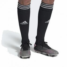 Женские футбольные бутсы adidas Predator 19.1 FG чёрные