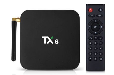 Медиаплеер TV Box TX6 (H6/2~4Gb/16~64Gb/Mali T-720/WiFi/BT/4K/Android 9.0)