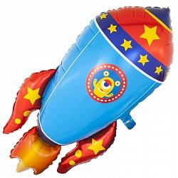 Космический шаттл шар фольгированный с гелием