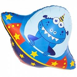 Летающая тарелка шар фольгированный с гелием