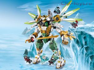 Конструктор LARI Ninjago Механический Титан Ллойда 11331 (Аналог LEGO Ninjago 70676) 912 дет