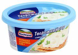 Сыр творожный Hochland сливочный, 220 гр