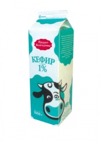 Кефир Вологодский 1% 970мл