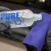 Нанесение кварцевого покрытия кузова авто Gyeon Q2 Pure