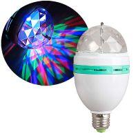 Светодиодная лампа LED FULL COLOR ROTATING LAMP (1)
