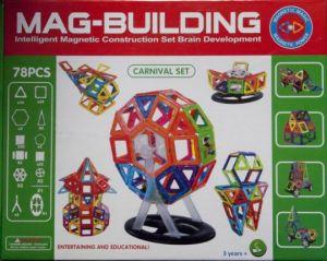 Конструктор MAG-BUILDING 78 деталей