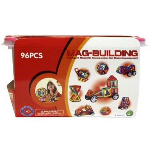 Магнитный Конструктор MAG-BUILDING 96 деталей