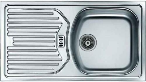 Врезная кухонная мойка FRANKE ETL 614 78х43.5см нержавейка 101.0060.167