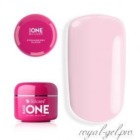 Gel Base One Clear Strawberry Silcare 5 гр
