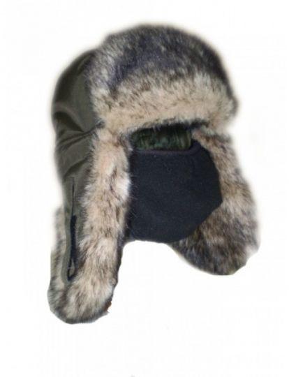 Шапка ушанка волк SARMA С030-1
