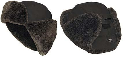Шапка ушанка овчина SARMA С030-1