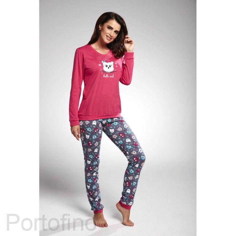 683-170 женская пижама длин.рукав Cornette