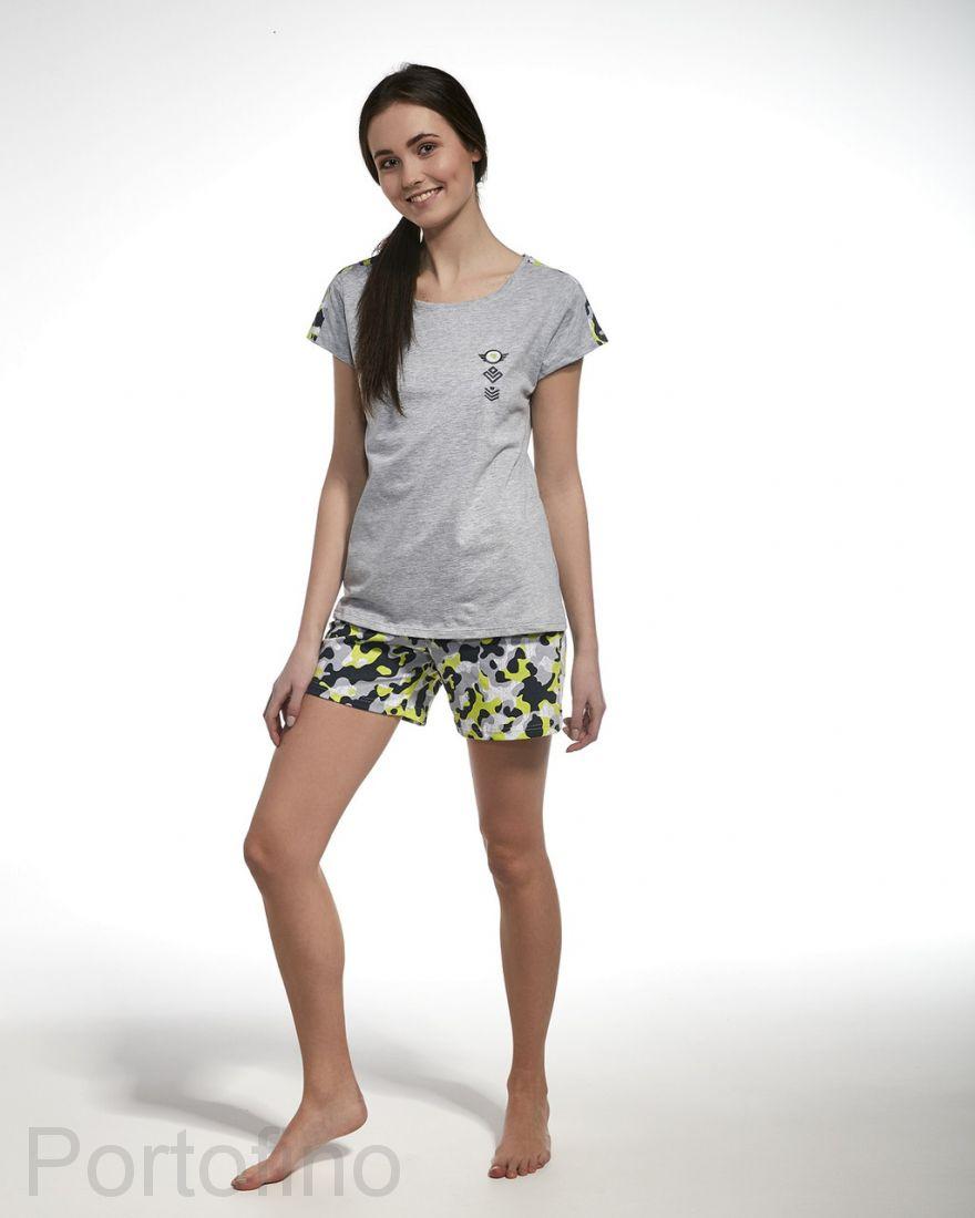 277-31 Пижама для девочек короткий рукав Cornette